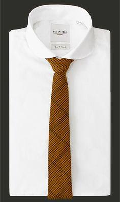 Shirt by Ben Sherman Tailoring - Tie Berlin by Juanmarcos of Sweden #mensfashion #tie