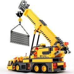 8045 Kazi Learning Education Building Blocks 380pcs/set City Crane Model Bricks Christmas gift toy Compatible Legoe city #clothing,#shoes,#jewelry,#women,#men,#hats,#watches,#belts,#fashion,#style