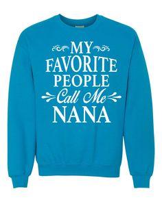 My Favorite People Call Me Mimi - Unisex Crewneck Sweatshirt - Mimi Gift Z3LmA
