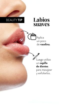 Smooth lips- Labios suaves Apply this tip before putting on makeup so that the color lasts all day. Beauty Care, Diy Beauty, Beauty Skin, Beauty Makeup, Beauty Hacks, Beauty Ideas, Homemade Beauty, Face Beauty, Lip Makeup