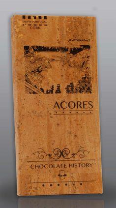 Açores | Lagoa das sete cidades | Chocolate Negro 48% Cacau 125 g