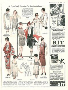 The Pictorial Review, July, 1925, Summer Frocks and Fashion 11 on Flickr.    Click image for 970 x 1280 size.  Found in I'm Learning To Share!
