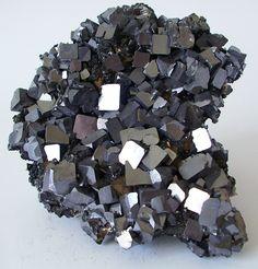 Galena, Chalcopyrite, 15x14x4, mined 1992, Mogilata deposit (North part), Septemvri mine Madan ore field, Bulgaria