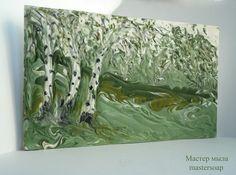 """Мастер мыла              mastersoap: Ebru soap challenge, my """"Birch grove"""".            ..."""