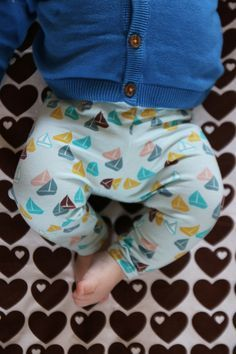 Baby legging naaien