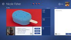 Facebook for Windows 8 9 Facebook for Windows 8 | Concept