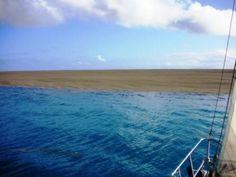 Posádka plachetnice, plavící se v Jižním Pacifiku, si uvědomila teprve později čeho byla svědkem . | PRVOPODSTATA.COM