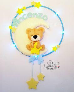 Decorazione luminosa per la cameretta del piccolo Vincenzo. #soelecreazioni #teramo #abruzzo #vincenzo #babyboy #nascita #maternità #idearegalo #fattoamano