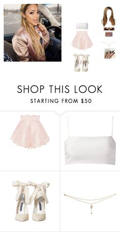 """hanging with Gabi"" by unicorn-923 ❤ liked on Polyvore featuring Alice McCall, Giuliana Romanno and Alice + Olivia"