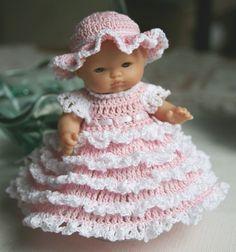 PDF PATTERN Crochet 5 inch Berenguer Baby Doll by charpatterns, $5.00 http://www.etsy.com/listing/76002878/pdf-pattern-crochet-5-inch-berenguer?ref=shop_home_active