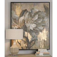 "Uttermost Dazzling 51 1/4"" High Canvas Wall Art - #1G996 