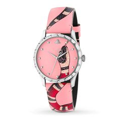 If you like keeping up with the latest fashion and accessory trends, buy Ladies' Watch Gucci mm) at the best price.Gender: LadyType of movement: QuartzBox material: SteelWatch face colour: PinkBracelet material: LeatherDiameter. Guccio Gucci, Buy Gucci, Hermes, Armani Watches, Luxury Watches, Red Watches, Cheap Watches, Gucci Handbags, Louis Vuitton Handbags