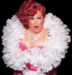 Harvey Fierstein as Edna Turnblad in Hairspary. I saw him as Tevye in Fiddler once.