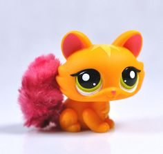 Littlest Pet Shop Cat Collection Child Girl Figure Cute Toy Loose Rare LPS554