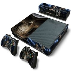 Sensible Skulls Xbox One S 7 Sticker Console Decal Xbox One Controller Vinyl Skin Promoting Health And Curing Diseases Faceplates, Decals & Stickers