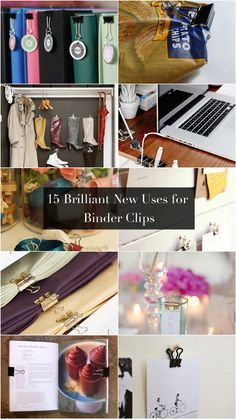 15 Brilliant New Uses For Binder Clips