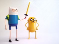Finn and Jake by Ben Christie