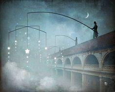 'Nightmakers' von Christian  Schloe bei artflakes.com als Poster oder Kunstdruck