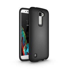 2-in-1 Impact Hard & Soft Silicone Hybrid Case For LG K10 LTE K410 K420N M2 Armor Phone Cover Shockproof Protector For LG K 10