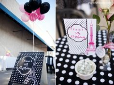 Paper and Cake | Paris Printable Birthday Party: Real Life Party | http://www.paperandcake.com