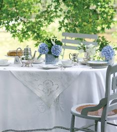 Tea Time à la française | Shabby Chic Mania by Grazia Maiolino