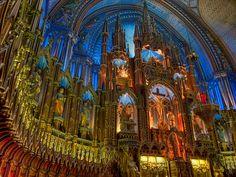 Montreal, Canada: Cathedral. Photo: Gustavo Kralj/Gaudiumpress