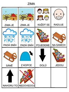 Zima European Countries, Pictogram, Playing Cards, Language, Teaching, Education, Logos, Kids, Autism