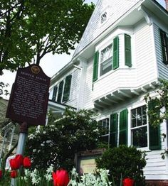 The birthplace and childhood home of Edward Hopper is located in Nyack, Rockland County, New York.