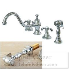 French Country Kitchen Chrome Faucet At 0153 Your Online Home Improveme