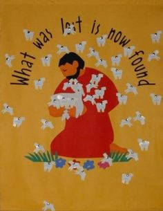 As First Penance approaches for Second Class teachers, here are some art and display ideas that might be of use! Art ideas: Using the story of The Good Shepherd, here are some simple but effective … Catholic Schools Week, Catholic Religious Education, Catholic Crafts, Catholic Kids, Catholic Bulletin Boards, Church Bulletin Boards, Preschool Bulletin Boards, Seven Sacraments, Year Of Mercy