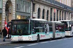 Do aeroporto CDG até Paris de ônibus ou trem (RER)