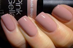 Swatches & Review // Pink Gellac Starter Set & Pink Gellac Nude Beige
