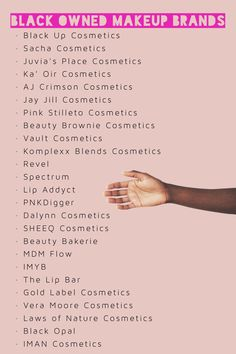 Black-owned cosmetic companies