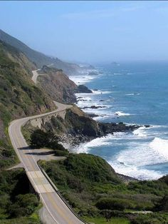 The 10 Best Road Trips in America; Los Angeles and the Iconic Route 1 Through Big Sur, California