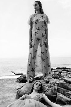 amy-ambrosio:  Hedvig Palm & Maartje Verhoef by Michal Pudelka for Valentino, Spring / Summer 2015.
