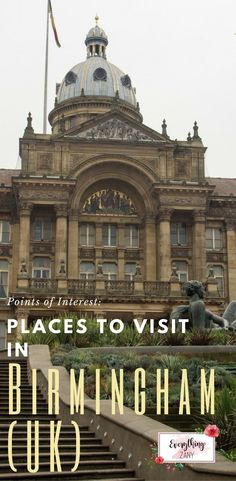Points of Interest: Places to Visit in Birmingham (UK) |     There are many attractions to see in Birmingham. It is home to Cadbury world, the Bull Ring and Mailbox shopping centres, the Think Tank museum, Aston Villa and Birmingham City football clubs and the Sea Life centre to name but a few. Birmingham is the second largest in the UK.  Unlike London, the city has no castles or palaces because of its industrial roots.