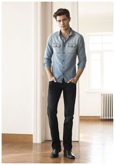 Francisco Lachowski & Arran Sly Don Denim for Mavi Fall/Winter 2015 Lookbook