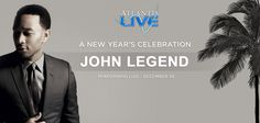 Don't miss the amazing John Legend in paradise this December 30!