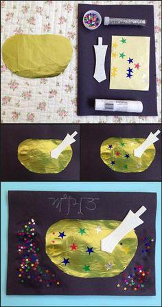 Vaisakhi card - amrit bata, perfect activity for explaining how amrit is ma Kindergarten Classroom Management, Kindergarten Activities, Preschool Activities, Painting For Kids, Art For Kids, Crafts For Kids, Religious Education, Kids Education, Preschool Pictures