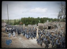 vintage everyday: 29 Incredible Colorized Photos of French Army During World War I