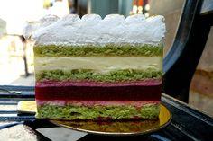 Lemon Rasberrry Cake at Almondine Bakery - I need this in my life! thx @seriouseatsny