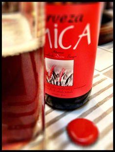 El Alma del Vino.: Cervezas : Cerveza Mica Cuarzo Ale Premium.