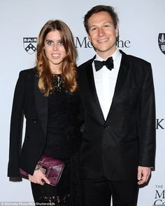 Princess Beatrice and her boyfriend Dave Clark appeared to be closer than ever as they sported his and hers jackets to a charity gala on Wednesday night