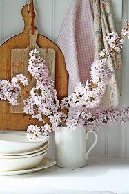 VIBEKE DESIGN: Pink blossom !