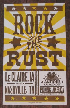American Pickers - got this hanging on our wall right now!