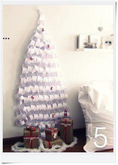 Christmas tree-paper