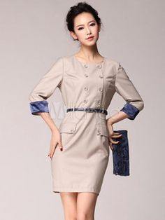 #Milanoo.com Ltd          #Shift Dresses            #Length #Sleeves #Two-Tone #Polyester #Fabulous #Woman's #Shift #Dress        3/4 Length Sleeves Two-Tone Polyester Fabulous Woman's Shift Dress                                      http://www.snaproduct.com/product.aspx?PID=5741047