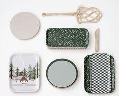 Nämä  trays & trivets by Ruth Landesa. http://ruthlandesa.com http://nama.fi/shop