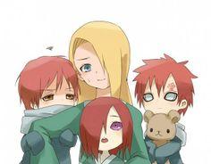 Nagato, Sasori, Gaara and Deidara together. Kinda weird to see but kawaii isnt it?? :)
