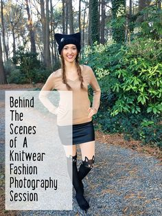 A lot goes into creating beautiful knitwear images. Here's some of what goes one behind the scenes at one of my photography sessions.